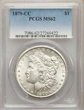 1879-CC US Morgan Silver Dollar $1 - PCGS MS62