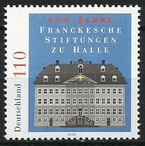 Germany 1998 MNH Architecture Francke Institution Main Building Mi-2011 SG-2867