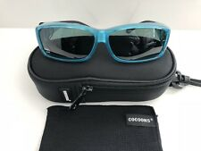 Polarized COCOONS Over RX Sunglasses - C4218G - Aqua/Gray - ML