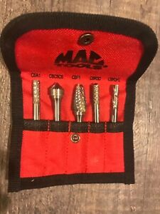 Mac Tools 5-pc Multi-Purpose Carbide Burr Set CB5S-A