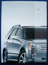 Prospekt brochure 2005 Cadillac SRX (USA)
