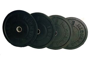 Pair Bumper Weight Plates 5kg 10kg 15kg 20kg Gym Weightlifting Crossfit Fitness