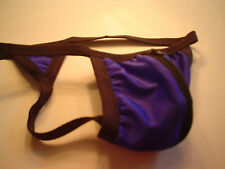 Mens Swimsuit Triangle Gstring Spandex Thong or Gstring style zipper & sizes USA
