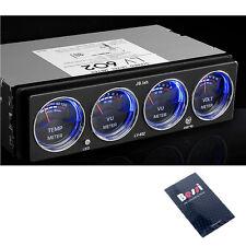 [made In Korea] JB.Lab CarAudio Analog Level Meter-Voltage Temperature Dual LED