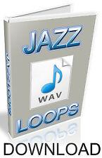 JAZZ WAV LOOPS - FL STUDIO - CUBASE - PRO TOOLS - LOGIC - ABLETON - KONTAKT