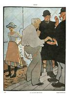 Publicité ancienne dessin de Roubille1981 issue de magazine