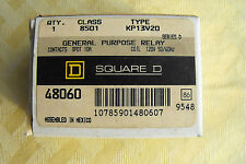 SQUARE D GENERAL PURPOSE RELAY KP13V20