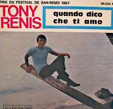 TONY RENIS quando dico che ti amo/il garofano rosso/mi perderai EP 1967 RCA EX++