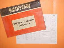 1967 1968 1969 1970 1971 FORD MUSTANG GT MACH I BOSS 429 VACUUM+WIRING DIAGRAMS