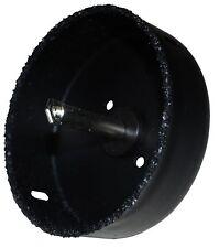 70mm DOWNLIGHT CUTTER HOLESAW CARBIDE GRIT HOLE SAW PLASTER FIBRO CEMENT SHEET