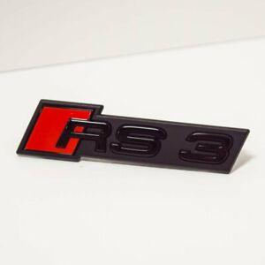 Audi A3 RS3 S3 8V Front Radiator Grille Emblem Badge 8V5853736BT94 NEW GENUINE