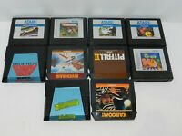 Atari 5200 Games Fun You Pick & Choose Game Good Titles Updated 10/8