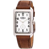 Shinola The Omaha Quartz Movement White Dial Ladies Watch S0120161949