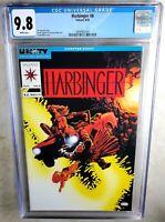 Harbinger #8 Valiant Comics 1992 CGC 9.8 NM/MT White Pages - Comic K0108