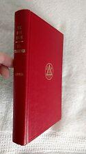 The Rosy Cross - It's Teachings - 1965 -  R. Swinburne Clymer, M.D. red leather