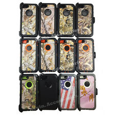 New Realtree Came Defender Case Cover Shockproof For Apple iPhone 7 / 7 Plus