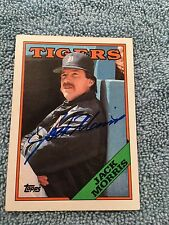 HOF Jack Morris Autograph Signed Topps 1988 Baseball Card FREE FAST SHIPPING!