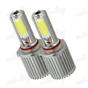 FIT BUICK CHEVY 9006 HB4 WHITE 2 LED COB 40W LOW BEAM FOG LIGHT BULBS ONE PAIR