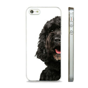 NEW BLACK COCKAPOO DOG PHONE CASE COVER FITS All APPLE IPHONE MODELS