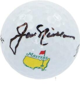 Jack Nicklaus Autographed Masters Logo Golf Ball Fanatics Authentic Certified