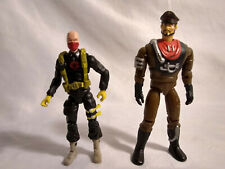 Lot Of 2 vintage GI Joe Action Figures  Cobra Commander