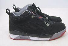 Nike Air Jordan Vuelo 9 Zapatos 395553-001 Hi Negro/Cemento/rojo size 8.5