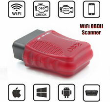Car WiFi OBD2 Scanner Code Reader Adapter Check Engine Light Diagnostic Tool