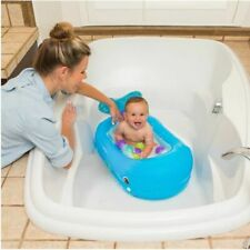 Whale Baby Bath Tub Inflatable Bather Floating Balls Toy Home Travel Bathing 6m+