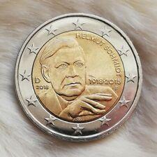 ____2 Euro Münze____ ___(*Fehlprägung*)___ Deutschland 2018 F Helmut Schmidt