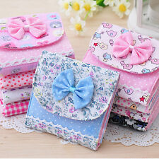 Cute Girl Sanitary Napkin Towel Pads Small Bag Purse Holder Organizer Rh