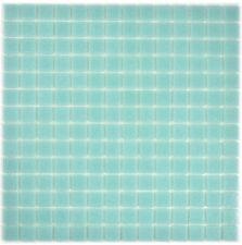 Mosaïque carreau verre vert sol cuisine mirroir tuiles 200-A62-N_f | 10 plaques