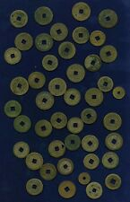 "CHINA (and KOREA) EARLY MINORS GROUP LOT OF (45) BRONZE ""CASH"" COINS!"