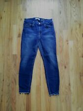 7 For All Mankind Raw Edge Ankle Skinny sz 28 $20
