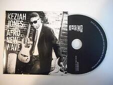 KEZIAH JONES : AFRO NEW WAVE [ FRENCH PROMO CD SINGLE PORT GRATUIT ]