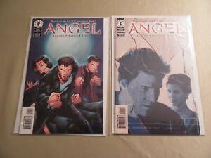 Angel #1 (Dark Horse 1999) Regular + Variant Cover / Free Domestic Shipping