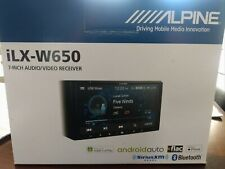 Alpine iLx-W650 7 inch Mechless In-Dash Receiver