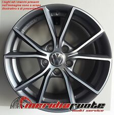 MM035 MAP 1 CERCHIO IN LEGA ECE 7,5J 17 5X112 ET 37 66,5 X AUDI A3 A4 A6 Q3 Q5