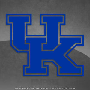 """Kentucky Wildcats Logo Vinyl Decal Sticker - 4"""" and Up - More Colors!"""