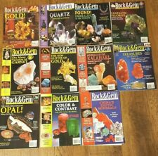 Rock & Gem Magazine 11 Issue Lot 2004 Lapidary Jewelry Making Rock-hounding