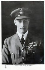 VINTAGE RAPHAEL TUCK NO 3658 H R H GEORGE THE DUKE OF YORK PHOTOCARD UNPOSTED