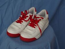 Reebok - S. Carter - Red and White - Girls Shoes - Size 5 -- FREE SHIPPING!!