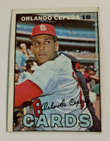 1967 Orlando Cepeda # 20 St. Louis Cardinals Topps Baseball Card HOF