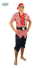 Costume vestito Pirata, corsaro, mozzo Spugna adulto Halloween,Carnevale g80024