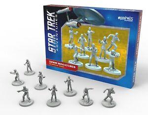 Star Trek Adventures RPG Miniatures Original Series Bridge Crew 32mm NIB
