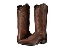 NEW FRYE Men's Billy Pull-On Western Boot Dark Brown Calf Shine 87689 Size 7