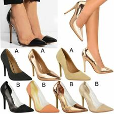 Ladies Womens Party High Heels Sandals Stiletto Court Shoes Office Work Sale New