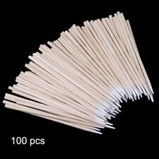 100 X Disposable Cotton Stick Clean Tool for AirPods Earphone Phone Charge Port