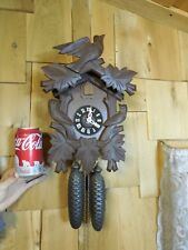 REAL NICE 8 DAY GERMAN MADE CUCKOO CLOCK RUNS GREAT