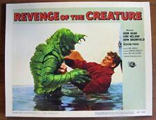 REVENGE OF THE CREATUREvintagehorrormovie lobby card reprintfor 195514x11