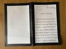ANTICA LETTERA CASA DI S.A.R. IL DUCA D'AOSTA TORINO 1890 88